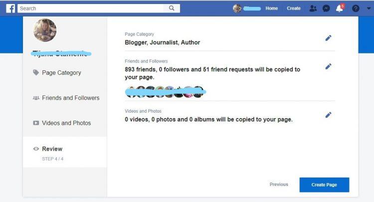 Provera pre stvaranja Facebook profila