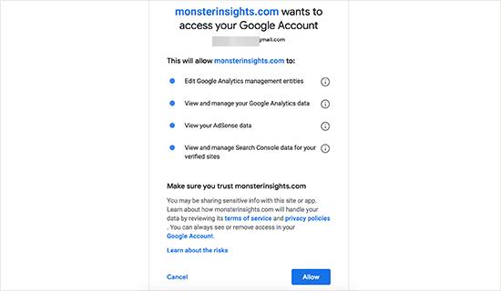monsterinsights dodatak