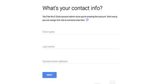 otvaranje poslovnog mejla gugl