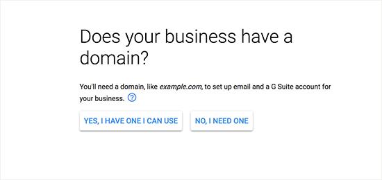 domen poslovanja