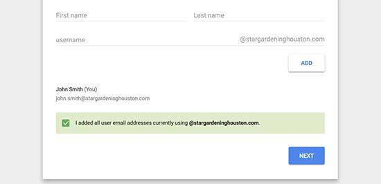 otvaranje poslovnog mejla