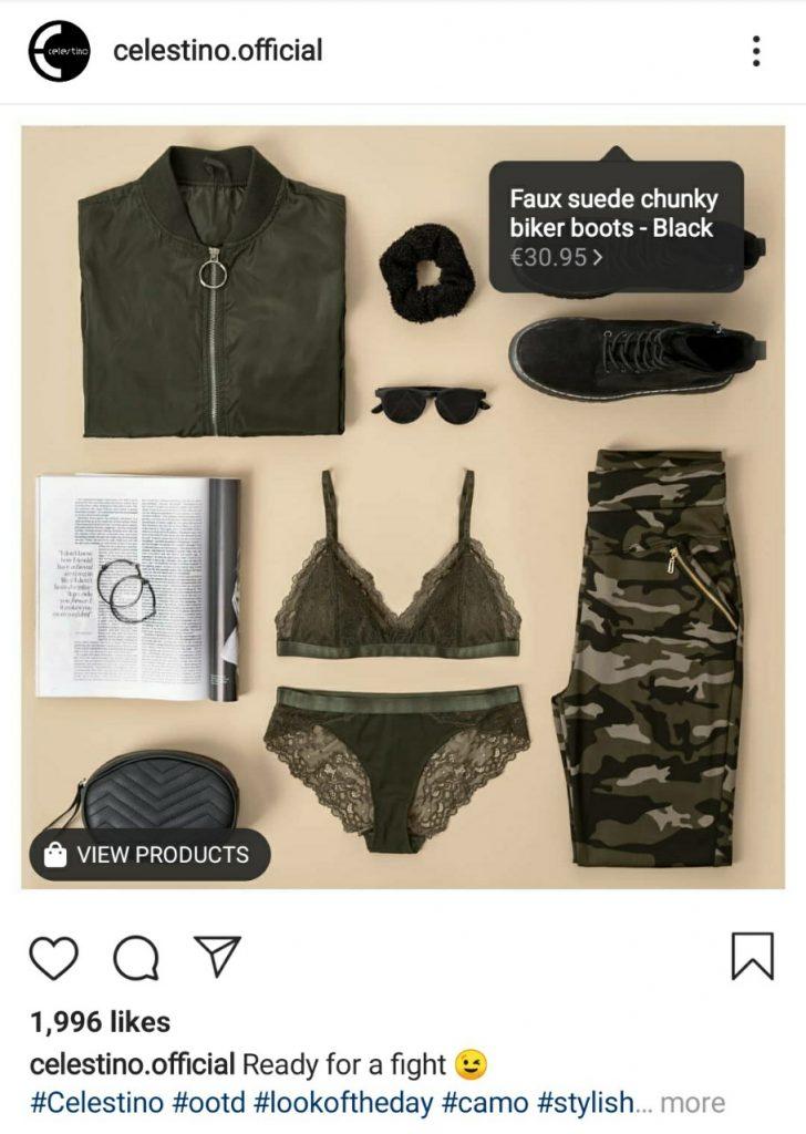 Instagram prodavnica