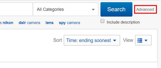 ebay pretraga