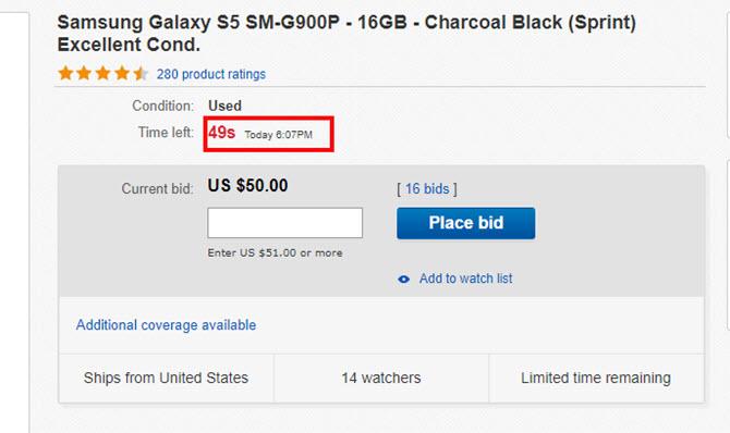ebay aukcija da je uvek osvojite