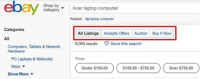 kupovna na ebay