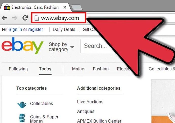 ebay nalog
