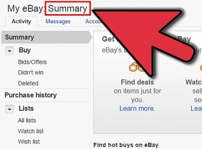 profil ebay