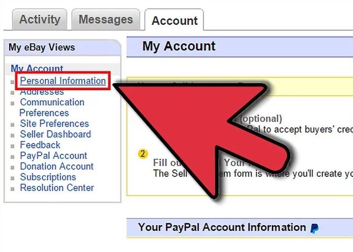 ebay informanicje