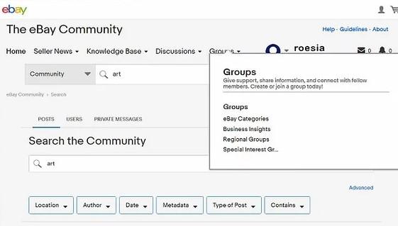 grupe na ebay