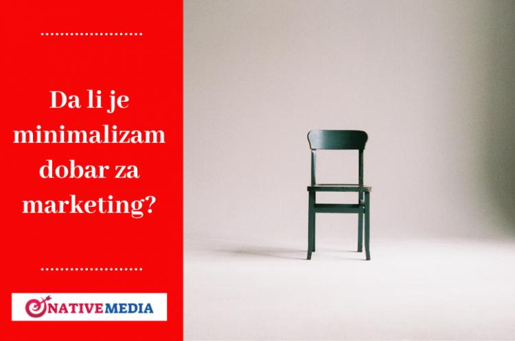 minimalizam marketing